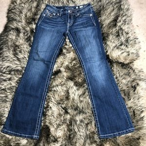 Miss Me jeans mid rise boot cut size 29
